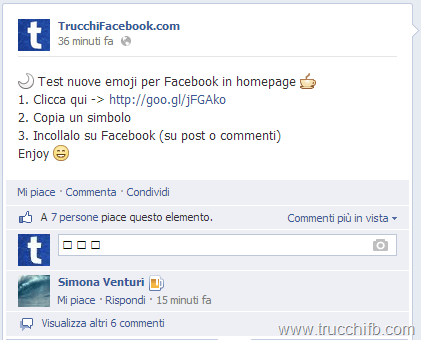 nuove emoticon facebook
