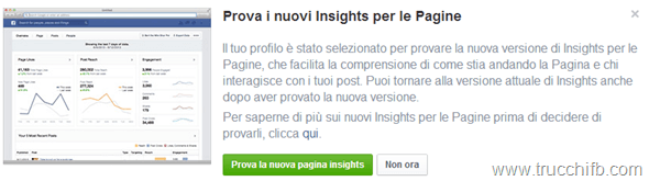 nuovi insights facebook