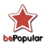 Be-Popular logo