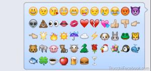 Come inviare le emoji in chat