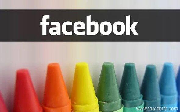 cambiare colore facebook