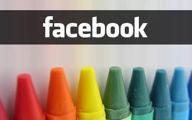 Tutti i modi per cambiare il colore di Facebook