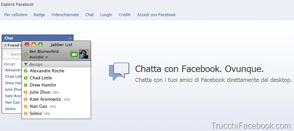 strumenti sessuali iscrizione facebook chat