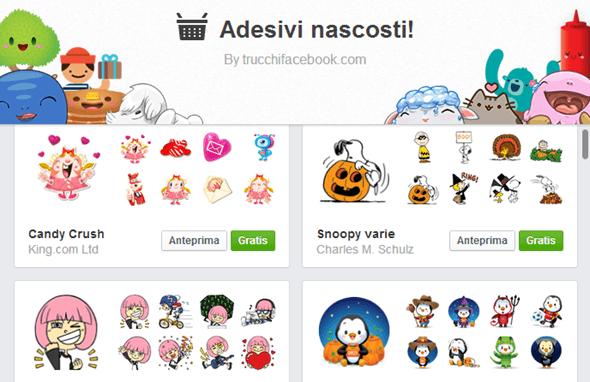 Come aggiungere pacchetti di emoticon gratis alla chat di Facebook