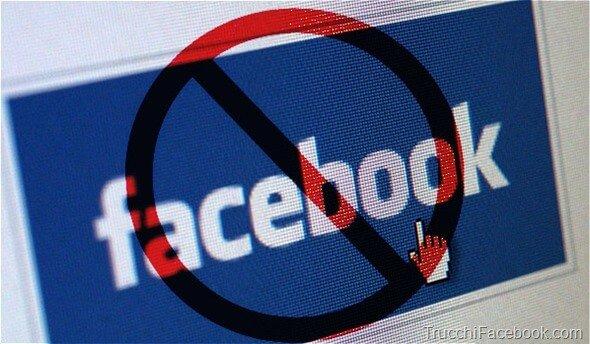 Come non farsi bannare da Facebook