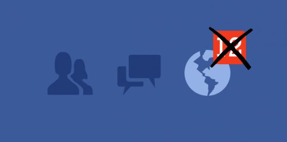Disattivare notifiche Facebook