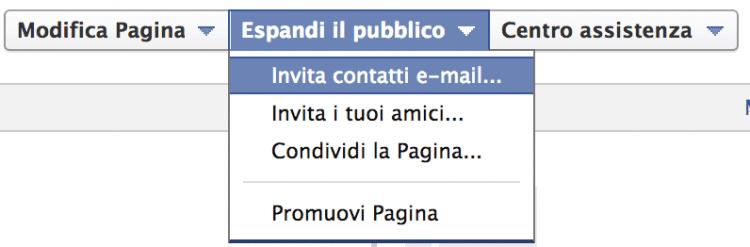 Invita-contatti-email
