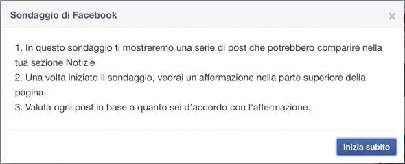 Sondaggio News Feed