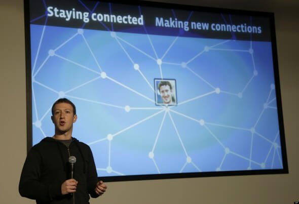 Marck Zuckerberg e il Graph Search