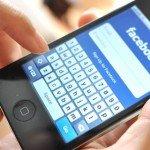 Facebook su cellulare