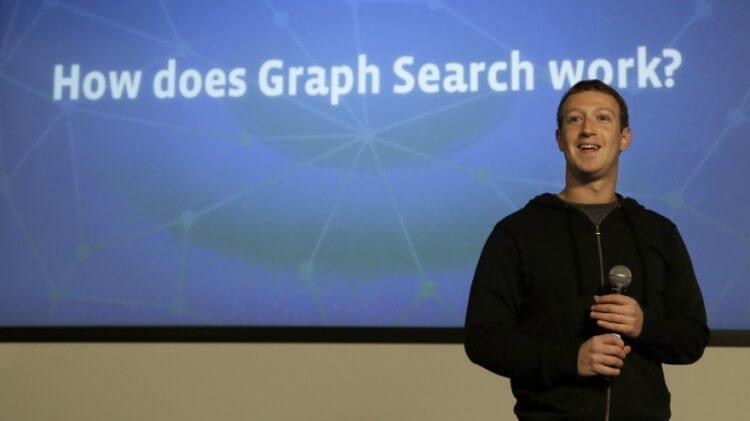 Mark Zuckerberg presenta il Graph Search