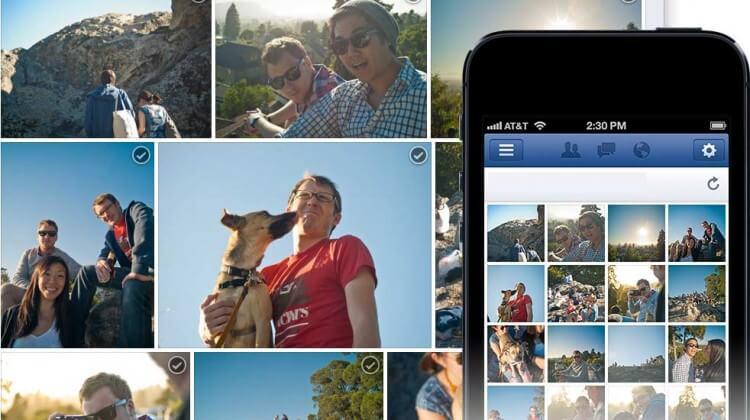 Come condividere più foto e creare un collage