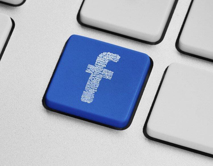 Tasto F Facebook