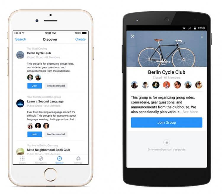 app facebook gruppi
