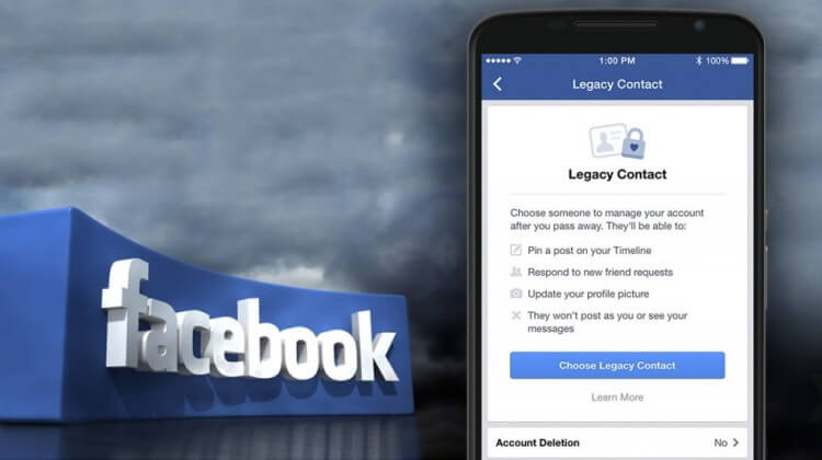 Come scegliere il contatto erede su Facebook