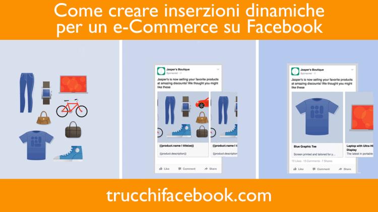 Come creare inserzioni dinamiche su Facebook