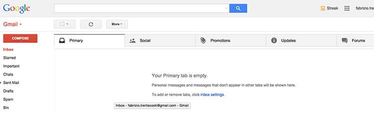 Aumentare la produttività con inbox pulita