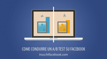 Come condurre un A/B test su Facebook