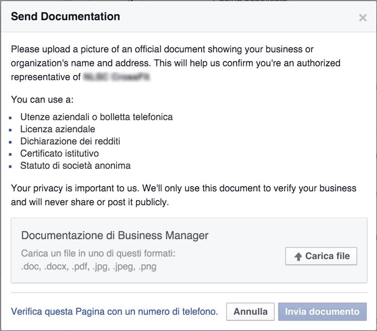 verifica-pagina-facebook-documenti