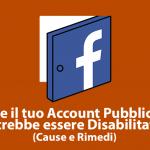Account Pubblicitario Disabilitato – Cause e Rimedi