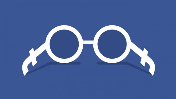 Occhiali Facebook