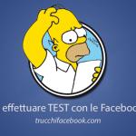 Come effettuare test con le Facebook Ads