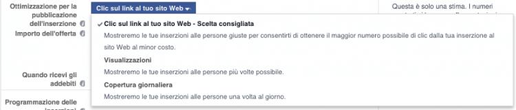 offerte gruppi inserzioni facebook