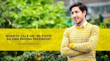 "Quanto vale un ""Mi Piace"" su Facebook?"