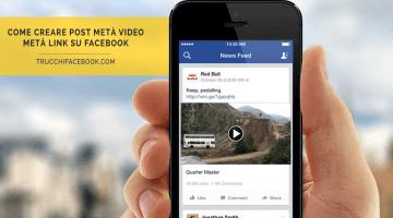 Come creare e pubblicare Video-Link su Facebook
