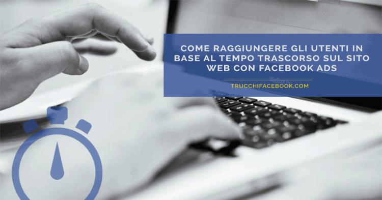 facebook-ads-pubblico-tempo-sito-web