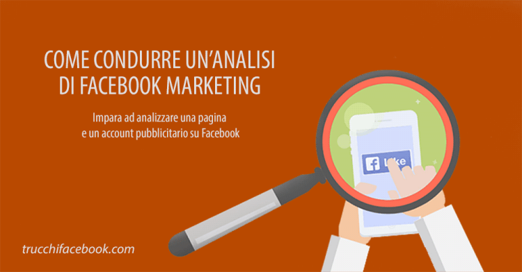 Analisi Facebook Marketing
