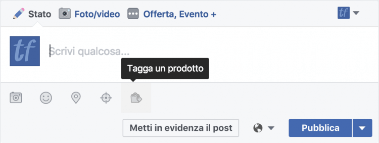tagga-un-prodotto-pagina-facebook
