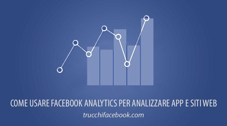 Come usare Facebook Analytics